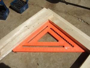 Rafter square, Orange