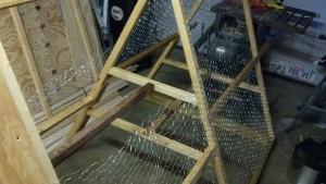 Chicken tractor framework